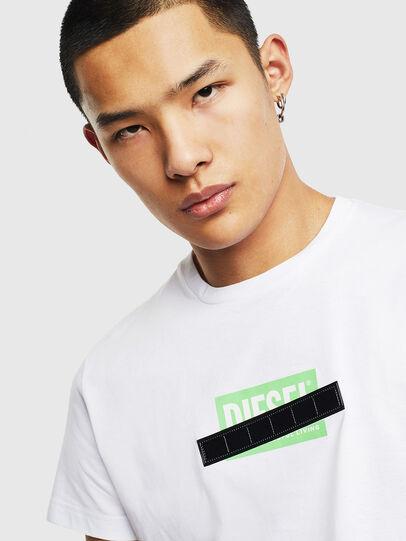 Diesel - T-DIEGO-S7, Blanco - Camisetas - Image 3