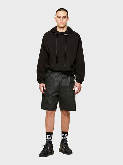 Diesel - D-HORTY-SP JOGGJEANS, Negro - Shorts - Image 4