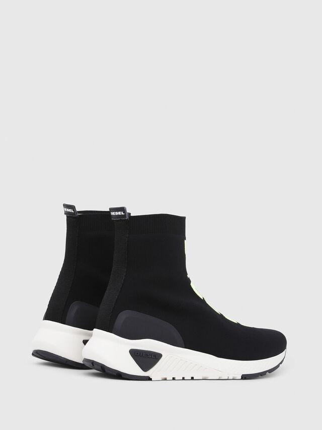 Diesel - S-KB MID ATHL SOCK, Negro - Sneakers - Image 3