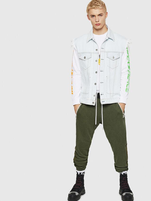 Diesel - P-TA, Verde Oscuro - Pantalones - Image 5