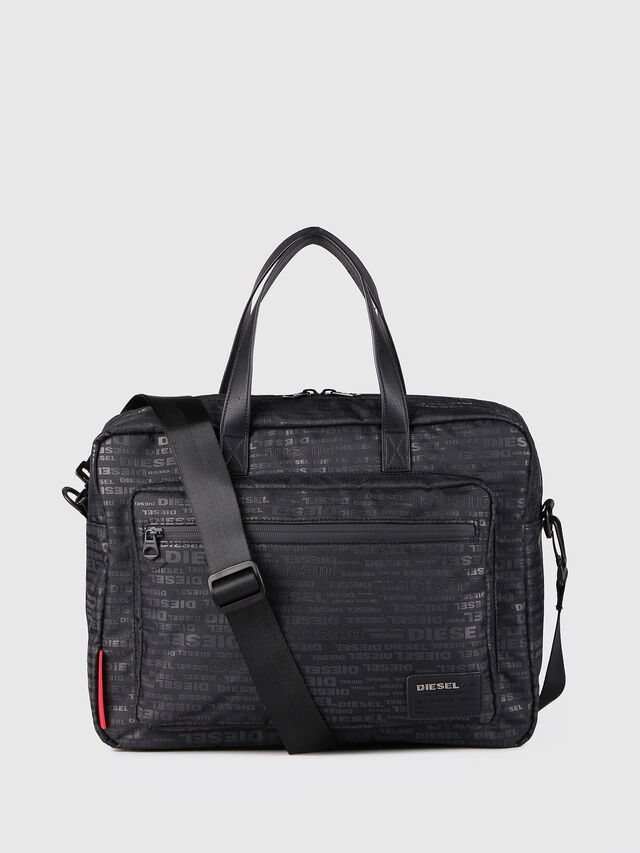 Diesel - F-DISCOVER BRIEFCASE, Negro - Maletines - Image 1