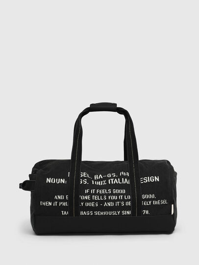Diesel - D-THISBAG TRAVEL BAG, Negro - Bolsos de viaje - Image 1