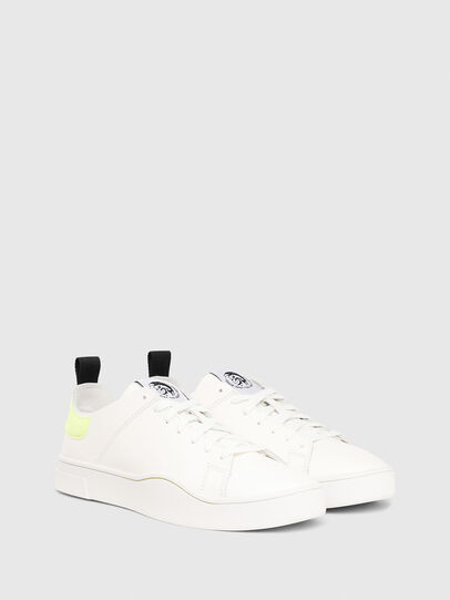 Diesel - S-CLEVER LS, Blanco/Amarillo - Sneakers - Image 2
