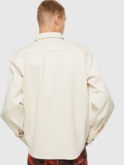 Diesel - S-JESSY, Blanco - Camisas - Image 2