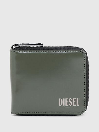 Diesel - HIRESH XS ZIPPI, Verde Militar - Carteras Con Cremallera - Image 1