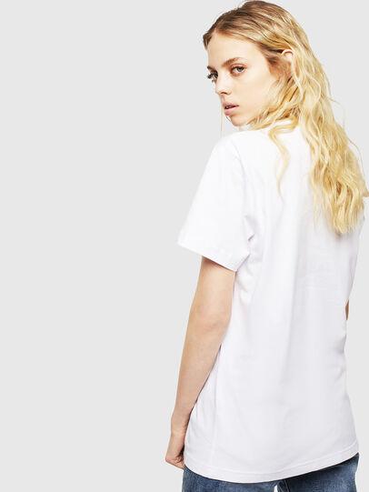 Diesel - T-DIEGO-CUTY, Blanco - Camisetas - Image 4