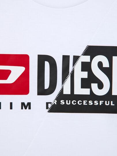 Diesel - TDIEGOCUTY ML, Blanco - Camisetas y Tops - Image 4