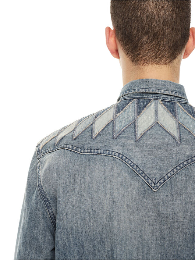Diesel - SULLYVAN, Blue Jeans - Camisas - Image 4