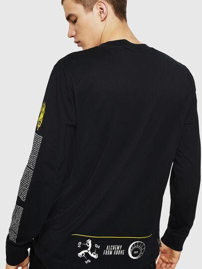Diesel - T-JUST-LS-NEW, Negro - Camisetas - Image 2