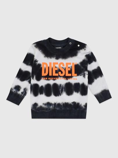 Diesel - SOBEZB, Negro/Blanco - Sudaderas - Image 1