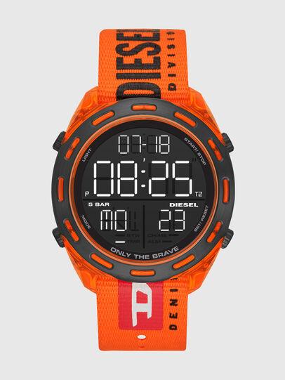 Diesel - DZ1896, Naranja Fluo - Relojes - Image 1