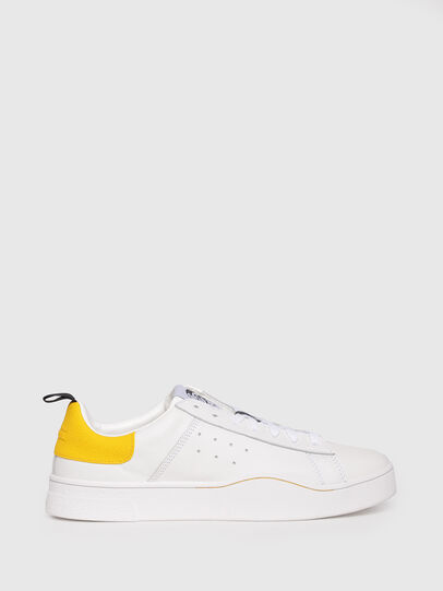 Diesel - S-CLEVER LOW, Blanco/Amarillo - Sneakers - Image 1