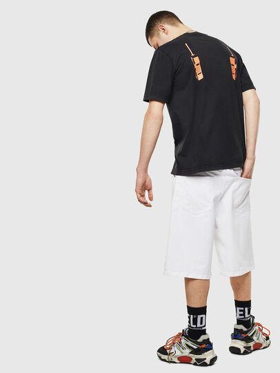 Diesel - T-JUST-T12, Negro - Camisetas - Image 6