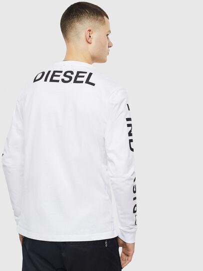 Diesel - T-JUST-LS-T14, Blanco - Camisetas - Image 2