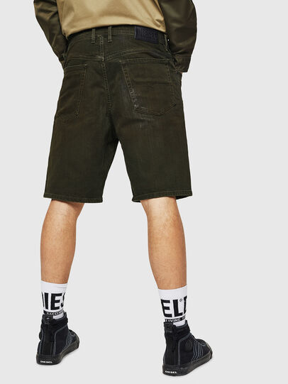 Diesel - D-WILLOH, Verde Oscuro - Shorts - Image 2