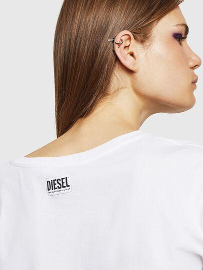 Diesel - T-JACKY-J, Blanco - Tops - Image 3