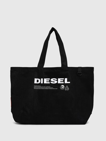 Diesel - D-THISBAG SHOPPER L, Negro - Bolsos Shopper y Al Hombro - Image 1