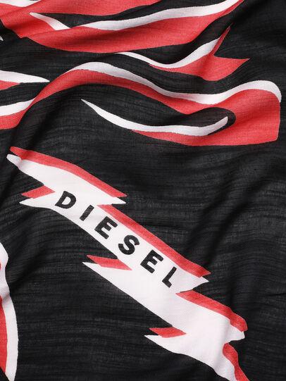 Diesel - SLUCAS, Negro/ Rojo - Bufandas - Image 3