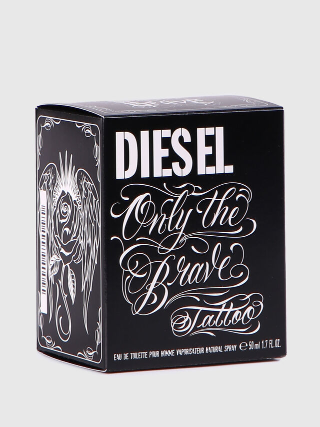 Diesel - ONLY THE BRAVE TATTOO 50 ML, Negro Brillante - Only The Brave - Image 4