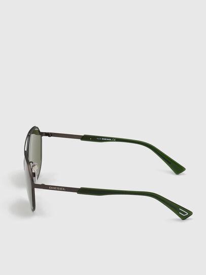 Diesel - DL0324, Negro/Verde - Gafas de sol - Image 3
