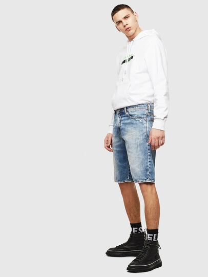 Diesel - THOSHORT, Azul Claro - Shorts - Image 5