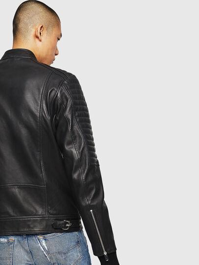 Diesel - L-SHIRO, Piel Negra - Chaquetas de piel - Image 5