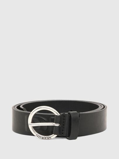 Diesel - B-RING, Negro - Cinturones - Image 1