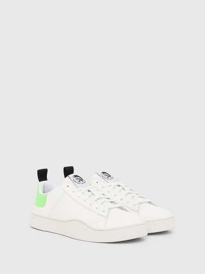 Diesel - S-CLEVER LOW LACE, Blanco/Verde - Sneakers - Image 2