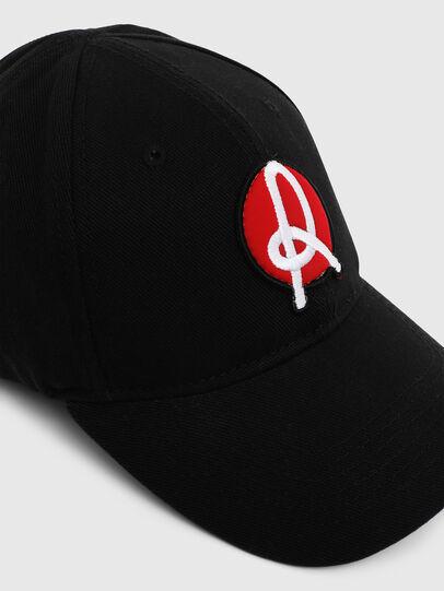 Diesel - LR-CAP, Negro - Gorras - Image 4