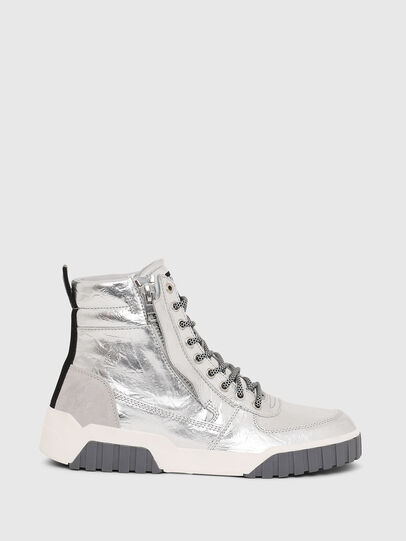 Diesel - S-RUA MID W, Plata - Sneakers - Image 1