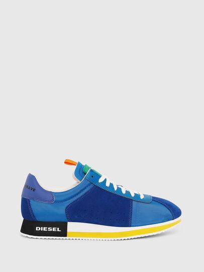 Diesel - S-PYAVE LC, Azul Brillante - Sneakers - Image 1