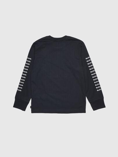 Diesel - TLARGEX, Negro - Camisetas y Tops - Image 2