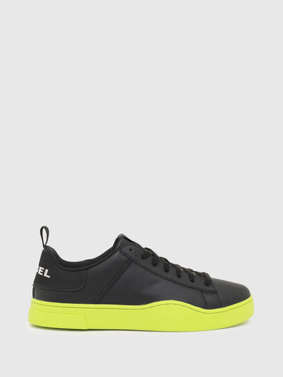 Diesel - S-CLEVER LOW LACE, Negro/Amarillo - Sneakers - Image 1