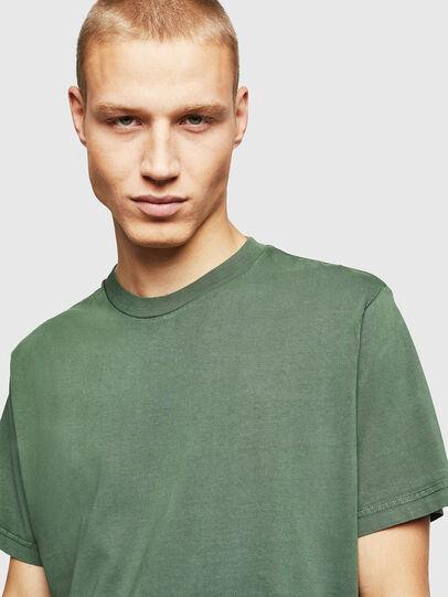 Diesel - T-THURE, Verde - Camisetas - Image 4