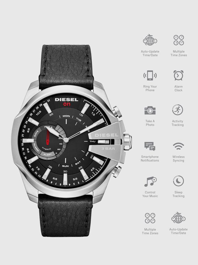 Diesel - DT1010, Negro - Smartwatches - Image 1
