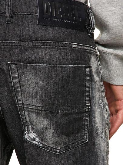 Diesel - Krooley JoggJeans® 09B53, Negro/Gris oscuro - Vaqueros - Image 4