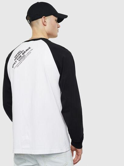 Diesel - T-RODDI, Blanco/Negro - Camisetas - Image 2