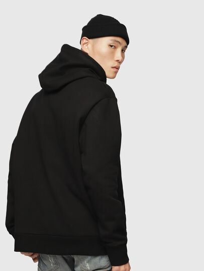Diesel - S-AFTER, Negro - Sudaderas - Image 3