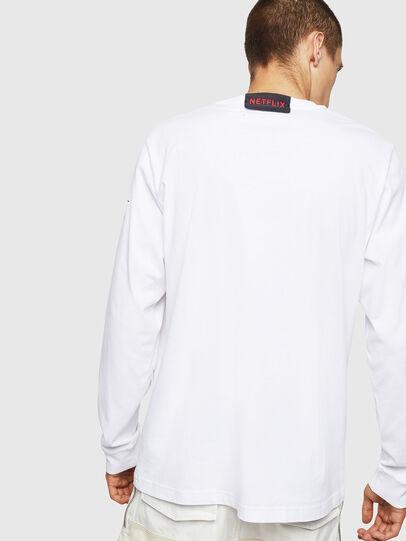 Diesel - LCP-T-JUST-LS-DENVER, Blanco - Camisetas - Image 3