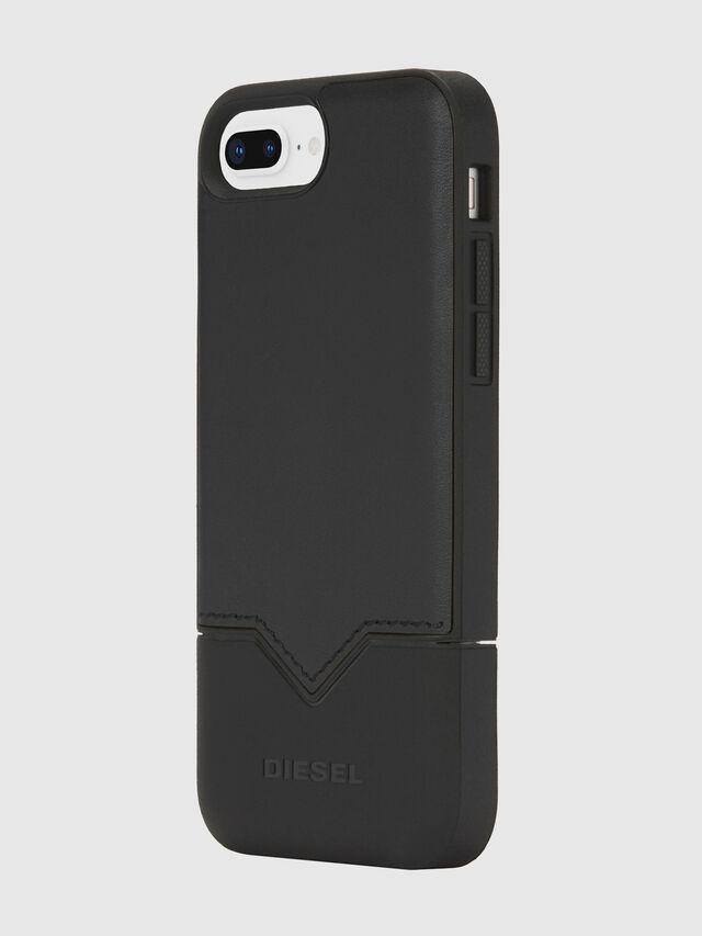 Diesel - CREDIT CARD IPHONE 8 PLUS/7 PLUS/6S PLUS/6 PLUS CASE, Negro - Fundas - Image 3