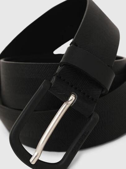 Diesel - B-SPIGA, Negro - Cinturones - Image 2