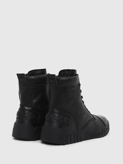Diesel - H-RUA AM, Negro - Sneakers - Image 3