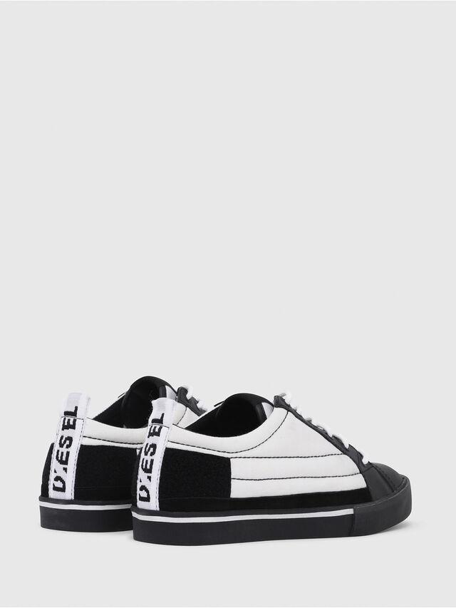 Diesel - D-VELOWS LOW PATCH, Negro/Blanco - Sneakers - Image 3