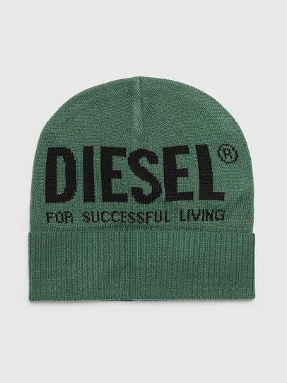 Diesel - K-BECKY-B, Verde Oscuro - Gorros - Image 1