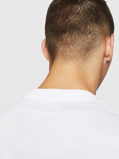 Diesel - T-LAZAREV, Blanco - Camisetas - Image 4