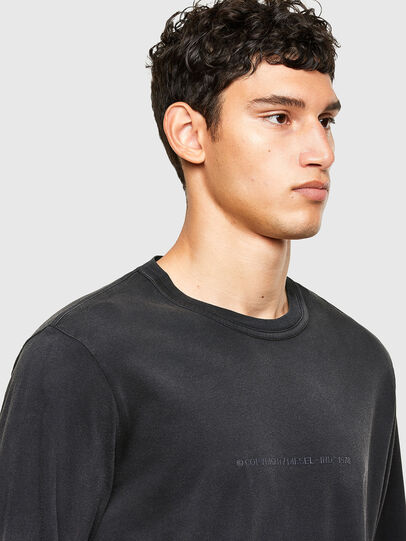 Diesel - T-JUBIND-LS, Negro - Camisetas - Image 3