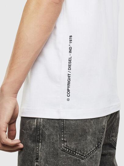 Diesel - T-JUST-T28, Blanco - Camisetas - Image 4