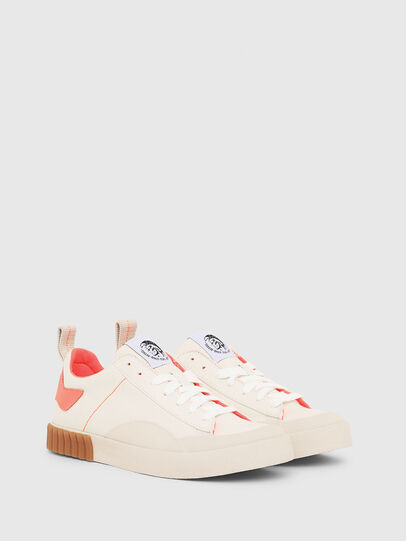 Diesel - S-BULLY LC W, Blanco/Rosa - Sneakers - Image 2