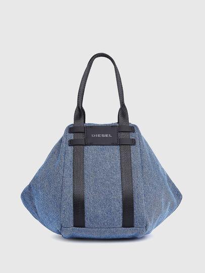 Diesel - CAGE SHOPPER XS, Blue Jeans - Bolsos - Image 1
