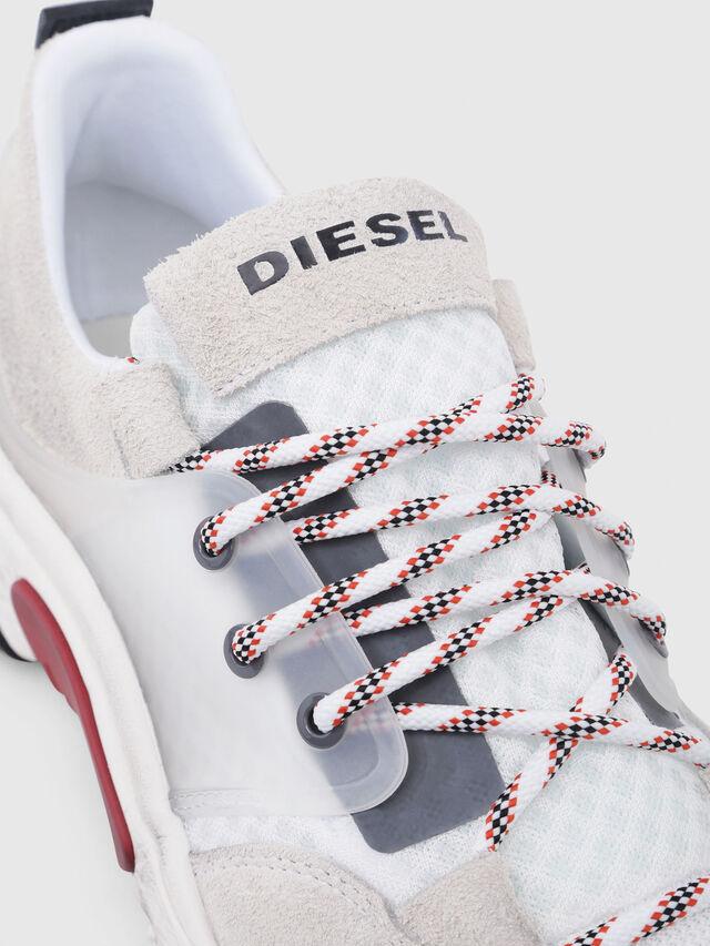 Diesel - S-KIPPER LOW LACE, Blanco - Sneakers - Image 4